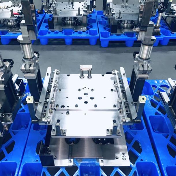汽车生产线子母托盘